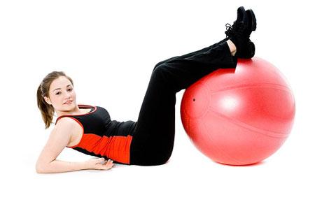 Фитбол - упражнения для пресса отдых
