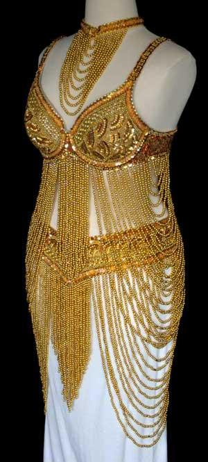 Платье стеклянное