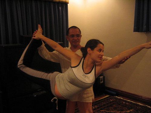 Тренер йога