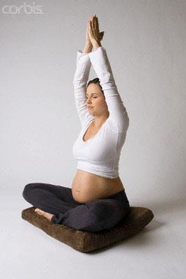 Йога - упражнения для беременных 1