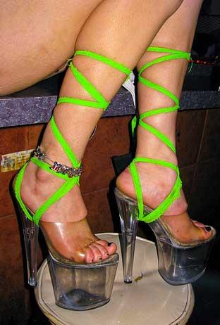 Туфли подвязки