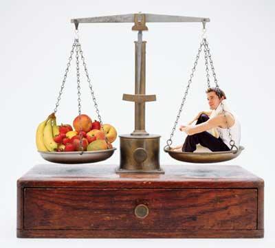 питание и взвешивание