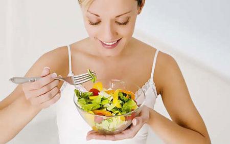 салат белковая диета