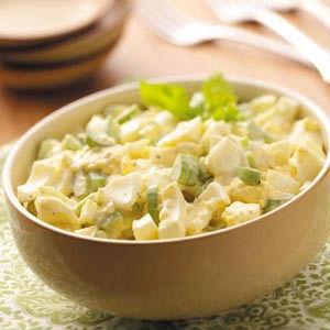 яичные белки салат