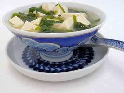 тофу суп