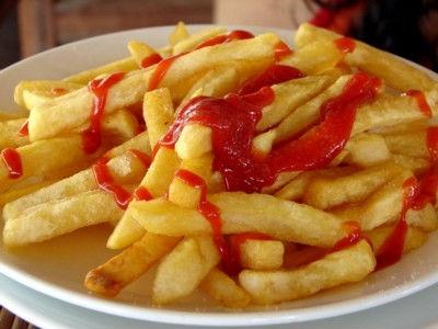 кетчуп и фри