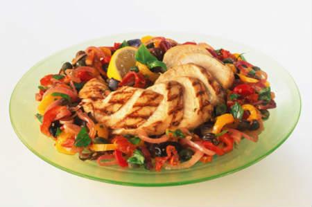 курица низкоуглеводная диета