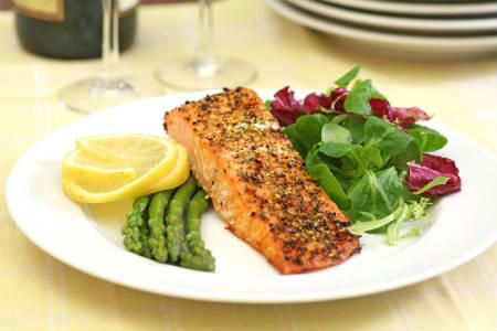 лосось низкоуглеводная диета